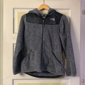 Girls North Face fleece jacket